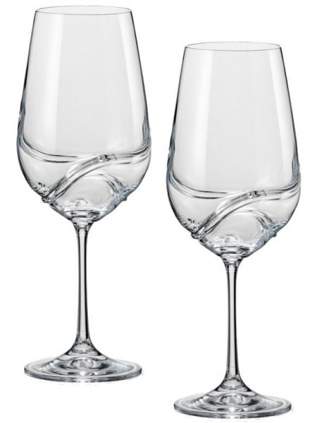 Crystalex Set 2 sklenice turbulence cabernet 550 ml
