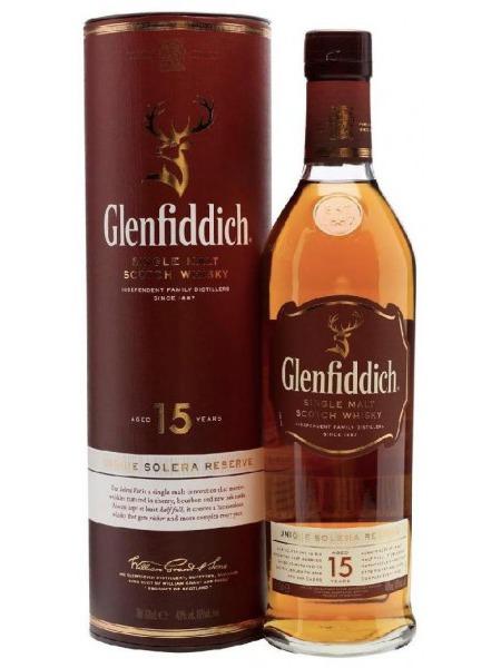 Glenfiddich Whisky 15yo Solera Speyside