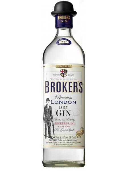 Brokers Gin London Dry Brokers UK