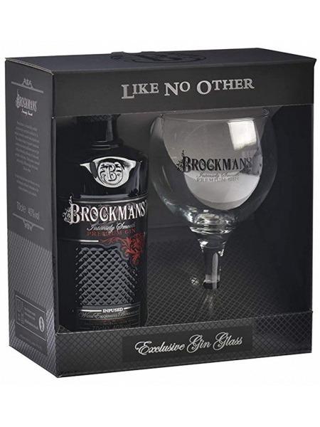 Brockmans Gin Premium Infused Gift Box 1x sklenice