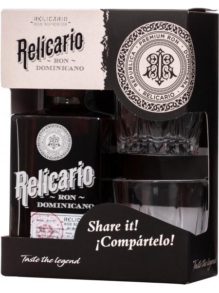 Relicario Rum Superior Gift Box 2x sklenice