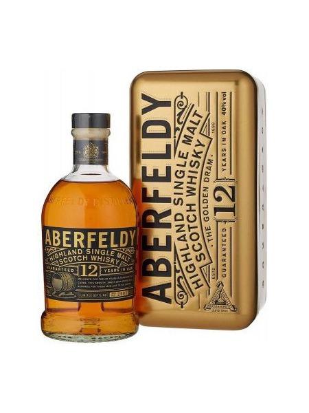 Aberfeldy Whisky 12yo Highland Gold Box