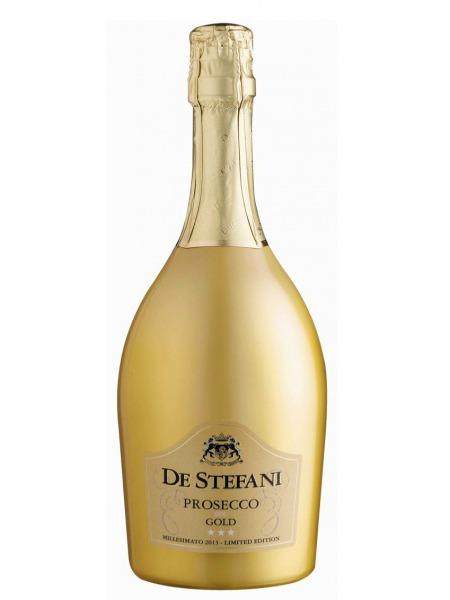 De Stefani Prosecco Gold Millesimato Extra Dry