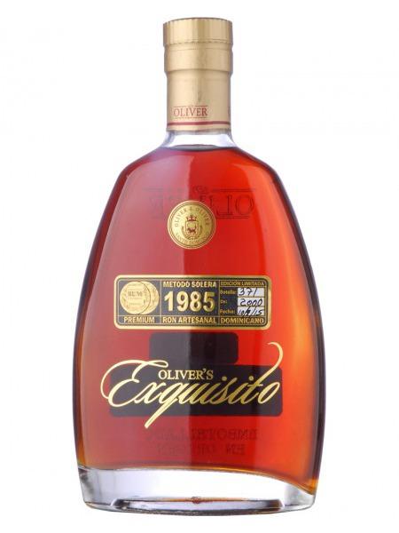 Oliver & Oliver Rum Exquisito 1985 Dominicana