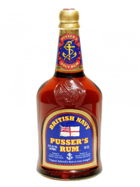 Pusser Rum British Admirality Virgin Islands