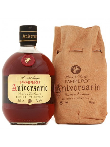 Pampero Rum Aniversario Venezuela Leather Box
