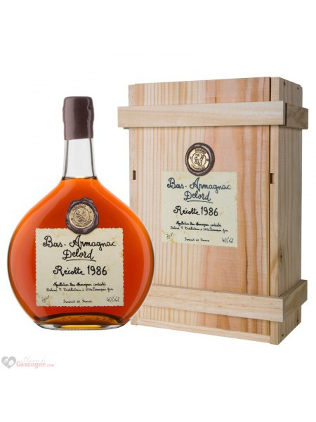 Delord Armagnac 1978 Wooden Box
