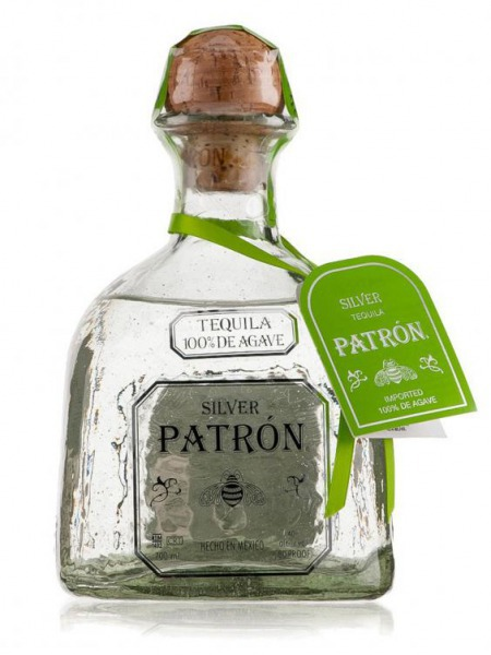 Patron Tequila Silver Paper Box