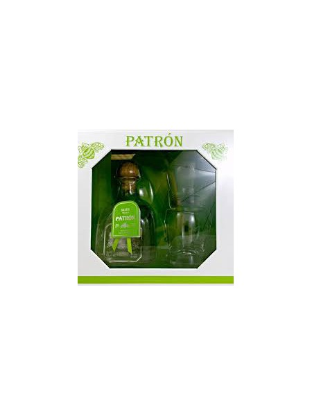 Patron Tequila Silver Gift Box 2x sklenice