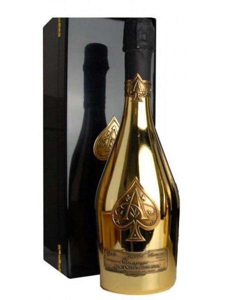 Armand De Brignac Champagne Gold Brut Wooden Box